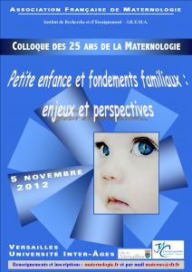 Colloque materno 2012